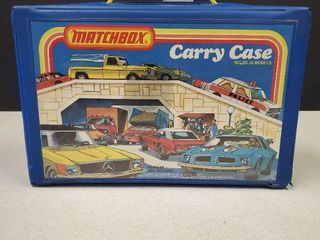 Royal Blue Matchbox Carry Case   Holds 24 Models