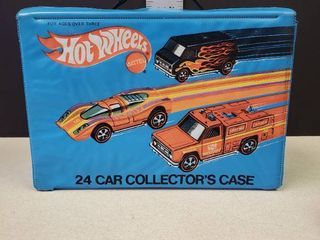 Baby Blue Hot Wheels 24 Car Collecters Case