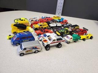 lot of 28 Toy Cars