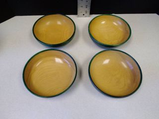 Sydney Farber and son and William H Farber wood bowls