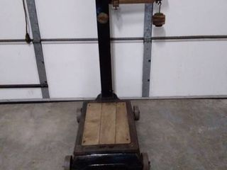 Industrial Fairbanks Platform Scale