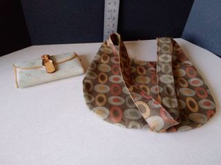Paco Soler bag and Dooney   Bourke wallet