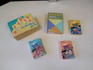 Hearts game  Mensa logic puzzles  Chex pocket trivia