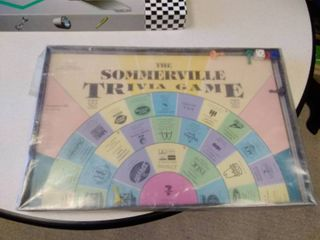 fast car game and the Sommerville trivia game