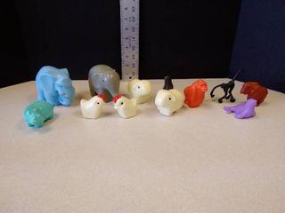 children s plastic zoo animals