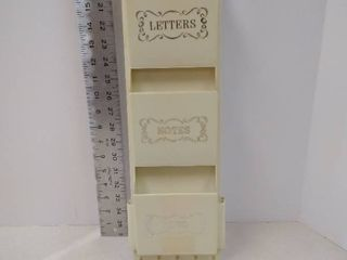 plastic letter notes holder