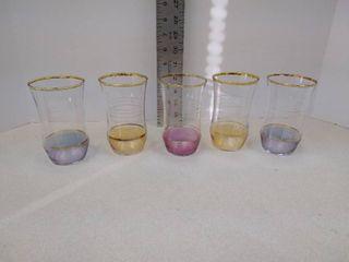 set a 5 glasses