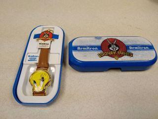 Armitron looney Tunes Tweety Bird watch