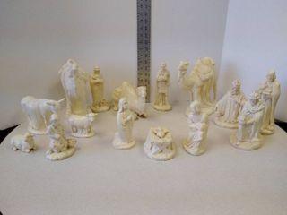 Holland mold  1983 nativity set