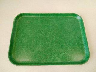 Toteline molded fiberglass tray