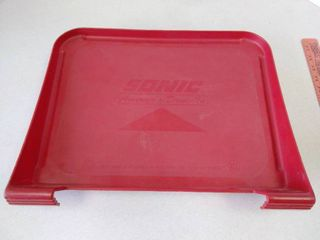 Sonic car tray
