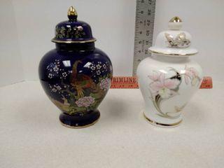Japanese ginger jars