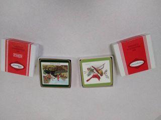 Pimpernel coasters