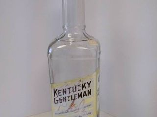 Kentucky Gentleman Strait Bourbon Whiskey bottle