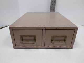 2 drawer index file