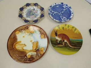 lot of miscellaneous plates