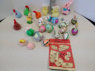 Miscellaneous lot of Easter eggs