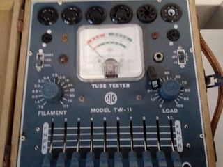 Superior Instruments Co Tube Tester