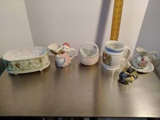 lot of ceramic and Porcelain items
