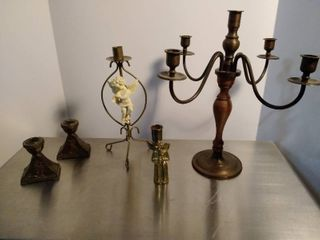 lot of candlesticks