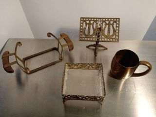 lot of metal items misc