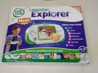 leapster Explorer by leap Frog in box  untested  used