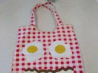 Vintage bacon and eggs bag