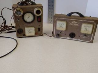 Vac U Tronic tester and Utility tester