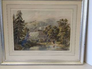 Framed Print THE HUNTING CASTlE