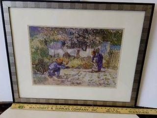 Vincent Von Gogh First Steps print