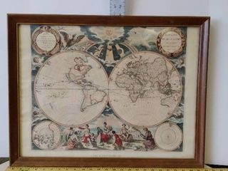 Peter Goos The Known World 1667 reproduction by American Heritage
