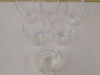 Jenner Tea coffee glasses with glass pour