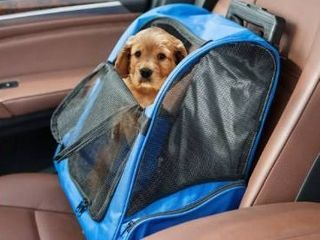 Kinbor Pet Travel Rolling Backpack Rolling Carrier Pet Travel Tote Airline Approved