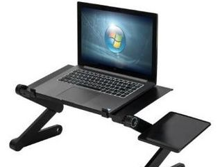 360 Degree Rotation Multifunctional Portable Folding Computer Table
