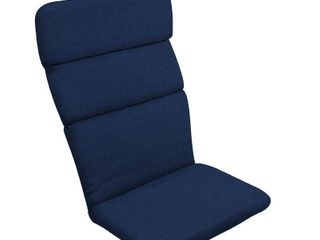 Set of 2 Arden Selections Sapphire leala Texture Adirondack Cushion   45 5 in l x 20 in W x 2 25 in H