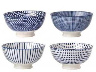 4 Piece Cereal Bowl Set   Color