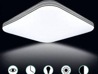 Set of 2 Square 18W 1400lM Energy Efficient lED Ceiling lights Modern Flush Mount Fixture lamp lighting for Kitchen Bathr