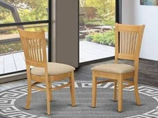 East West Furniture Vancouver Dining chair set of 2