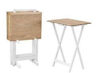 Declan Tray Table Set 4  Retail 139 99