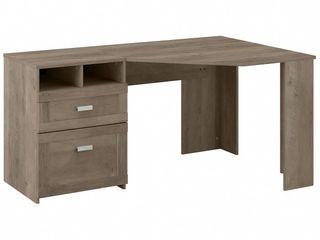 Wheaton 60W Reversible Corner Desk with Storage by Bush Furniture  Retail 297 14