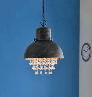 Aniston Corroded Metal 1 light Pendant  Retail 125 99