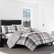 Eddie Bauer Normandy Plaid Comforter Set  Retail 109 99