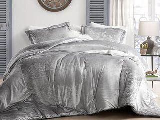 Coma Inducer Oversized Comforter   Velvet Crush   Champagne Alloy  Retail 134 49