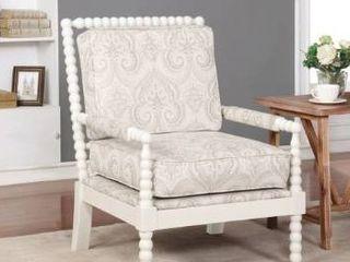 linon Nesbit Spindle Chair Beige