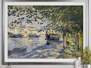 The Seine at Rouen   Premium Framed Print  Retail 127 99