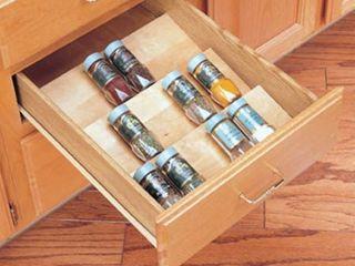 Rev A Shelf 4SDI 18 Wood Spice Drawer Insert