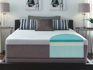 Slumber Solutions 14 inch Gel Memory Foam Choose Your Comfort Mattress   White  Retail 589 99