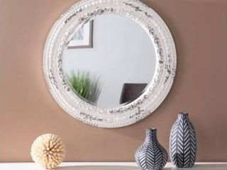 The Gray Barn Caiazo Traditional Wood Mirror  Retail 233 99