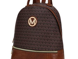 MKF Collection Denice Signature Backpack by Mia K