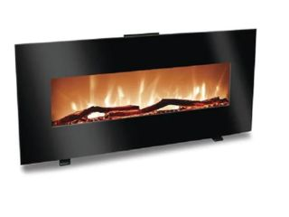 Harrison 34  Flat linear Electric Fireplace With Heater  Works